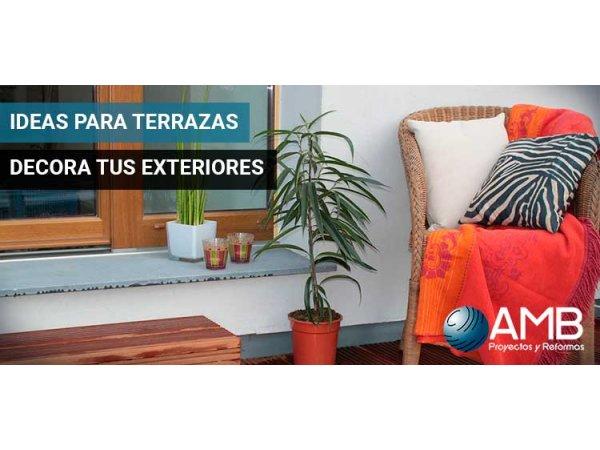 ideas para terrazas Ideas Para Terrazas Decora Tus Exteriores AMB Madrid
